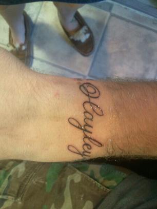 Memorial tattoo 39 s for hayley for Sister memorial tattoos